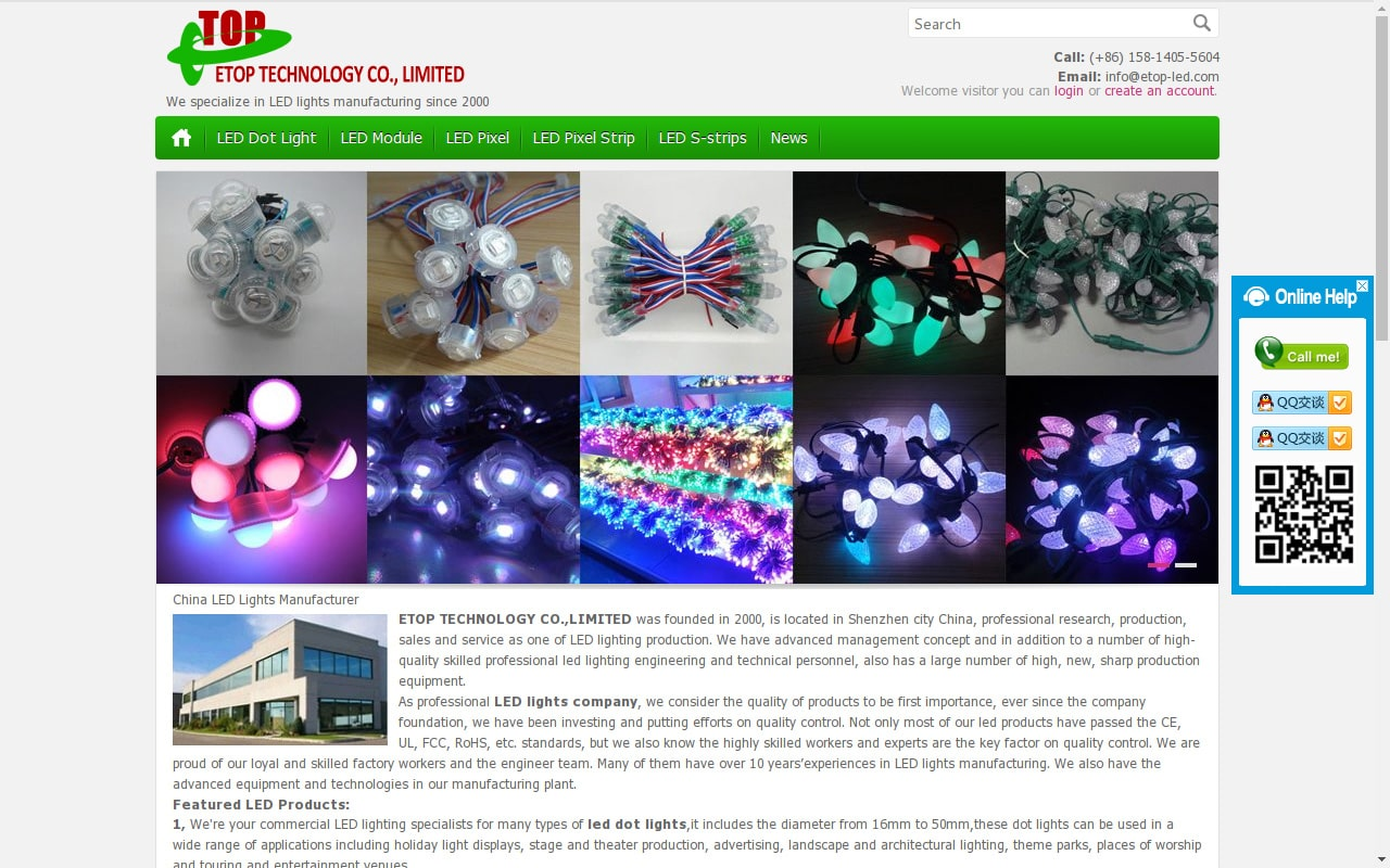 深圳LED灯具厂家 ETOP TECHNOLOGY CO.,LIMITED - etop-led.com
